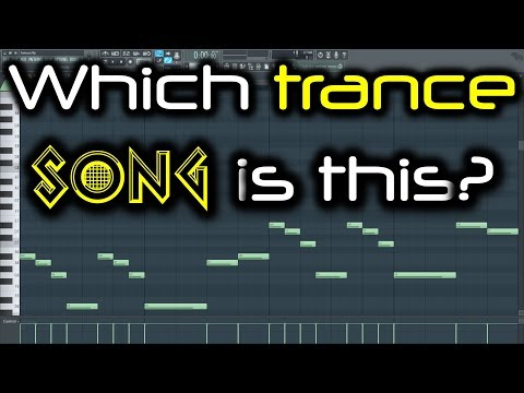 WHICH SONG IS THIS?   Famous Old Trance Melody in FL Studio   Guess the Track or Artist