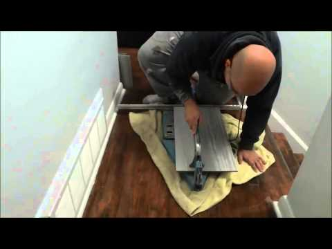 How To Cut Tiles With A Tile Cutter