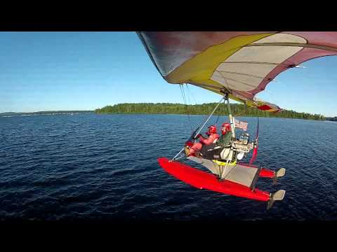 Tommy 2013 - Air Creation Float Trike - Lake Winnipesaukee - New Hampshire - August 24th