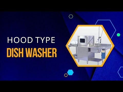 Commercial Dishwasher - Hood Type