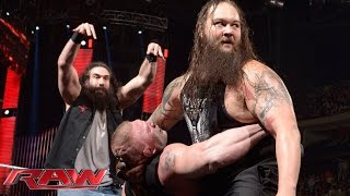 "Tensions rise as Roman Reigns and Brock Lesnar appear on ""The Highlight Reel"": Raw, January 18, 2016"