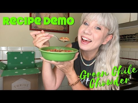 Recipe Demo: Green Chile Chowder + Vegfest News