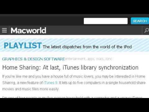 How-To Sync Itunes And Home Sharing