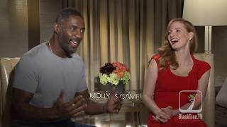 Idris and Jessica on Freak-Nic and MOLLYS GAME