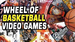 WHEEL OF NBA VIDEO GAMES!