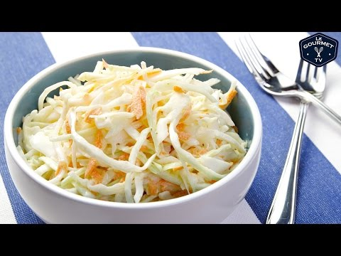 TangyMayo Cole Slaw    Le Gourmet TV Recipes