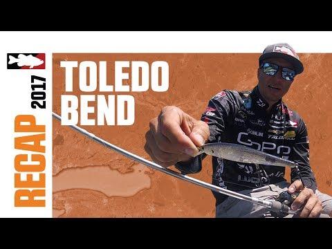 Brent Ehrler's 2017 BASS Toledo Bend Recap
