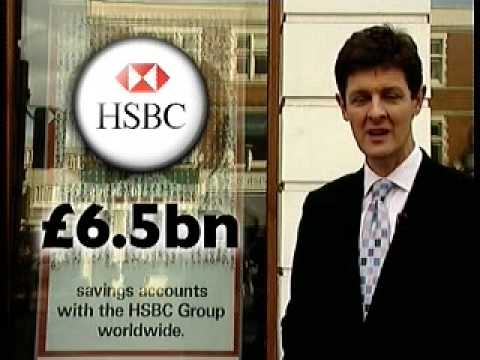 Shares down HSBC and US Bank suffer 2nd March 2009