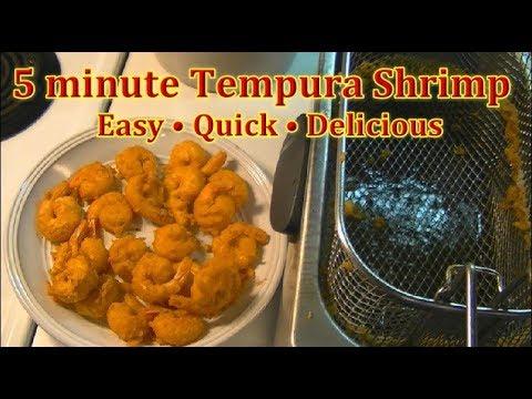 How to make Tempura Shrimp