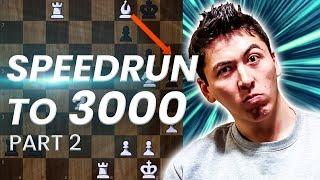 GM Eric Hansen Blitz Speedrun to 3000   1500-1800