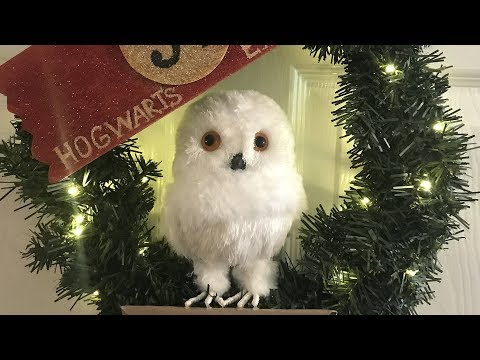 Lets Make A Hedwig Wreath