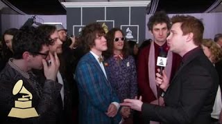 Download MGMT on the GRAMMY Red Carpet! | GRAMMYs Video