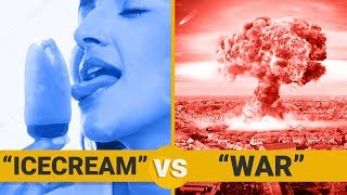 ICE CREAM VS WAR - Google Trends Show