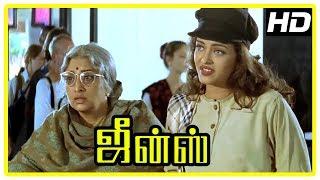Jeans Movie Scenes | Aishwarya Rai intro | Lakshmi wants to go out of hospital | Prashanth