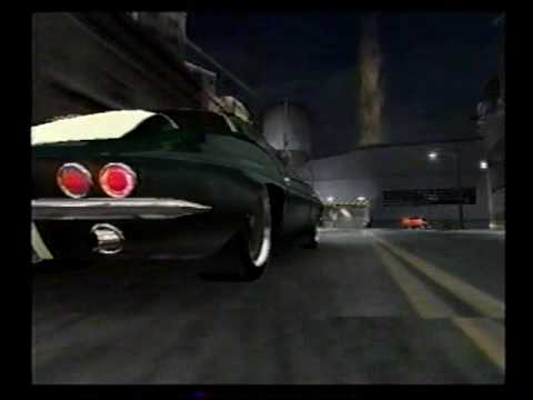 Midnight Club 3 REMIX '63 Corvette Stringray Detroit Race 2 FAIL
