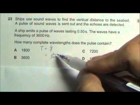 2008 O' Level Physics 5058 Paper 1 Solution Qn 21 to 25