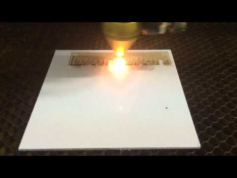 Laser cutting of v2.4 circuit board