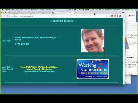 CNIT 141: 12. Message Authentication Codes (MACs) and 13. Key Establishment