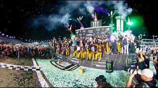 360 VIDEO: THE NO. 78 TEAM CELEBRATES WITH A CHAMPAGNE SHOWER