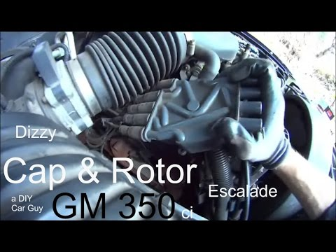How to Replace Cap + Rotor on 2000 Escalade / Tahoe / Yukon / Chevy 350 Vortec Engine