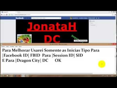 Como Pegar Session ID e Facebook ID no Dragon City 2014 (Google Chomme)