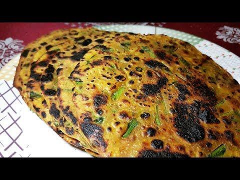 सुबह का नास्ता पालक पराठा Palak Paratha Palak Thepla paratha recipe stuffed paratha palak recipes