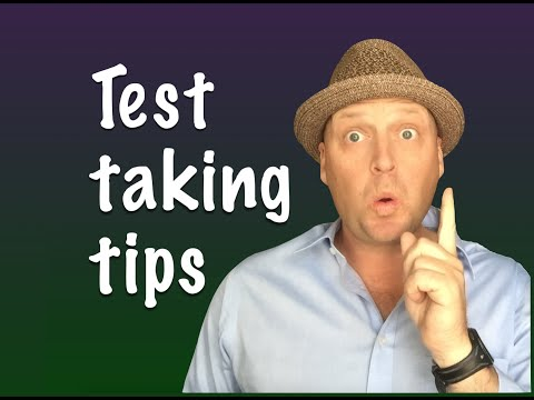 Test Taking strategies for the real estate exam