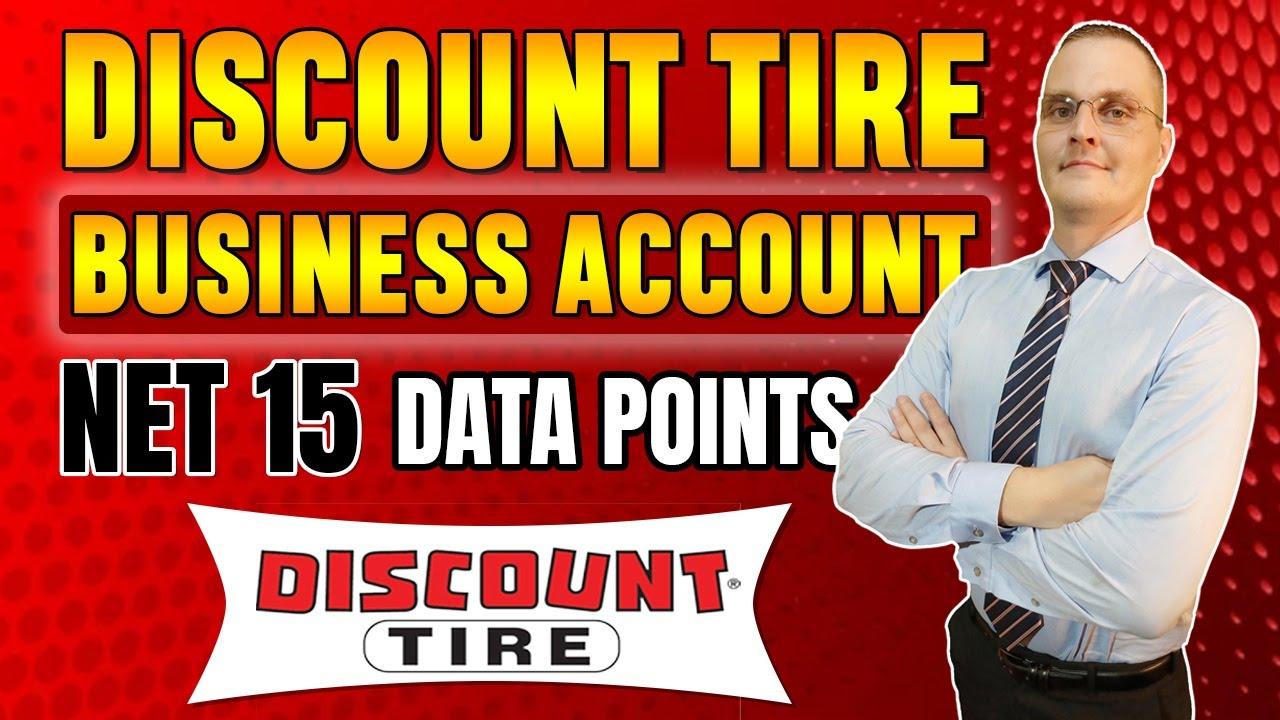 Discount Tire Business Credit Fleet Account | Data Points