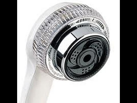 Waterpik remove water saving restrictor from shower head for more water pressure