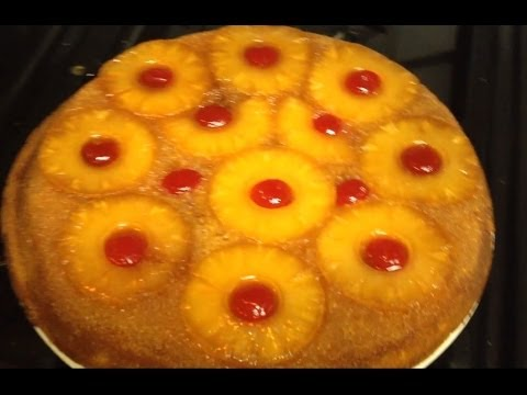 PINEAPPLE UPSIDE DOWN CAKE, Perfect and simple easy instructions S@@