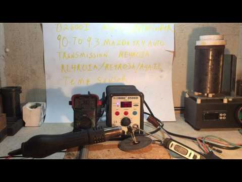 transmission  temp sender testing re4r01a b2600i automatic