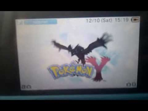 Pokemon X and Y: Intro to Pokemon Y/ Mystery Gift Torchic