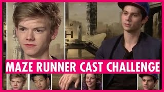 Maze Runner Cast Challenge - with Dylan O