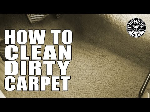 How To Clean Dirty Carpet - Chemical Guys Car Care