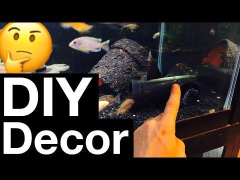 DIY Aquarium Decorations - My 5 Favorite Ideas