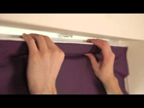 How to fit a Spring Bracket Roman Blind | Roman Blinds Direct