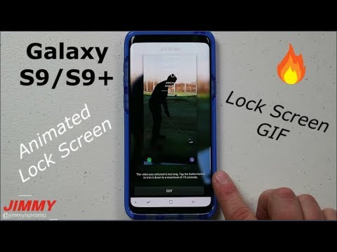 Samsung Galaxy S9/S9+ VIDEO Lock Screen