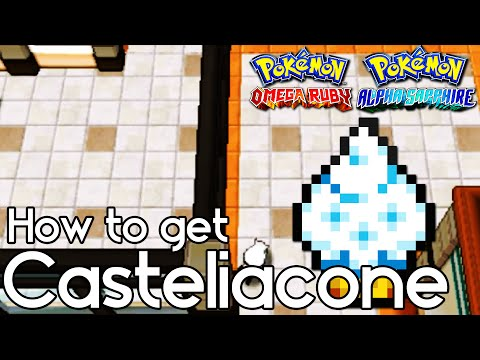 How to Get Casteliacone – Pokemon Omega Ruby and Alpha Sapphire  –  Pokemon ORAS How to