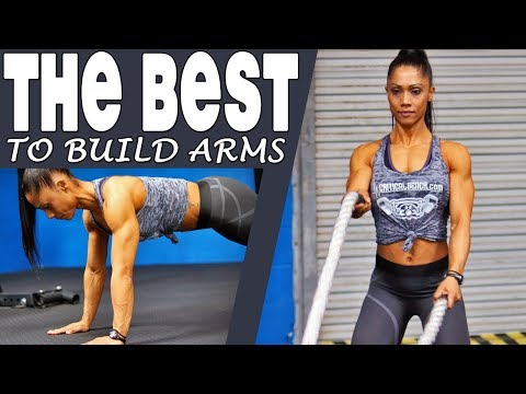 ARM TONING Without Weights (4 Exercises Designed for Women)