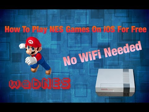 Play NES games for free on safari with no WiFi  **2018**