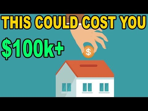 PSA: Why it's a BAD IDEA to pay down your mortgage early!