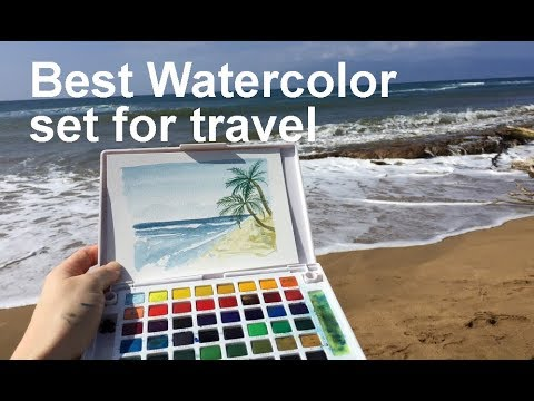 The Best Travel Watercolor Sets  - REVIEW