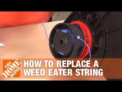 Replacing a Weed Eater String (String Trimmer Line)