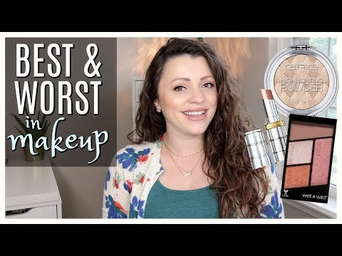 BEST & WORST | Lots of Drugstore Makeup | May 2018