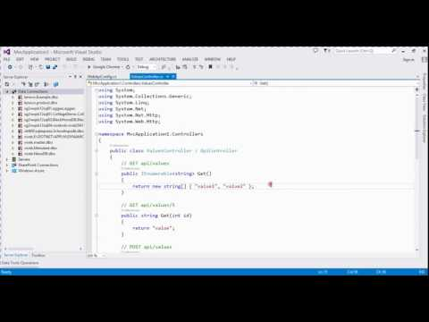 how to create web api in asp.net mvc