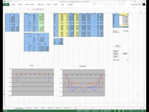 Bridge-Optimizing Genetic Algorithm in Excel VBA