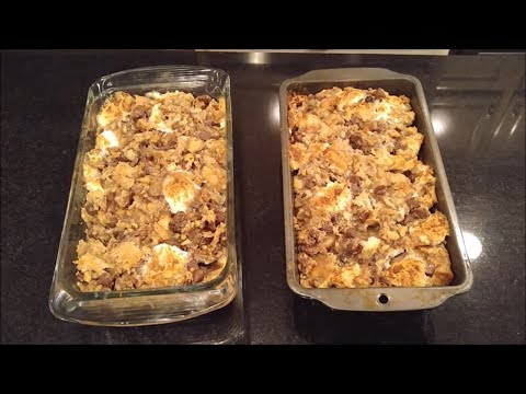The Best Southern Style Rocky Road Bread Pudding How to Make