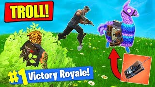 EXPLOSIVE C4 LAMA *TRAP* In Fortnite Battle Royale!