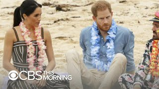 Prince Harry and Meghan tackle mental health on Australian tour