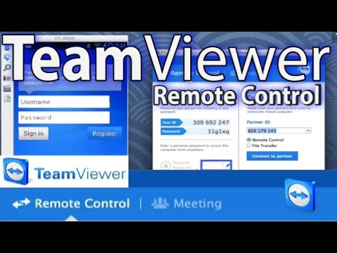 Teamviewer Remote Control Tutorial